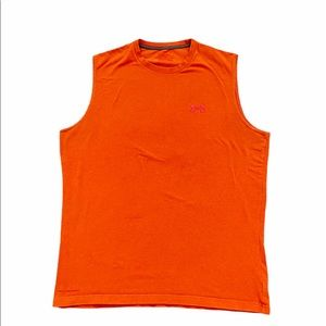 Under Armour Pullover Orange muscle tank L